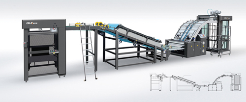 Fully Automatic Flute Laminating Machine FMQ