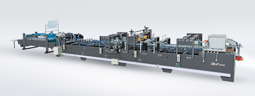 ZH-GD1060 High Speed Automatic Paper Box Gluing Machine