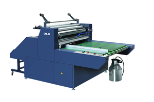 FMR-BQ Semi-automatic Water-based Laminating Machine